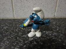 Smurfs Ice Lolly Blue Vintage Rare (e)