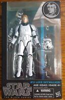Star Wars Black Series 6 inch #12 Luke Skywalker Stormtrooper