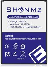 V20 Battery BL-44E1F 4200mAh Replacement Battery for LG V20 H910 H918 LS997