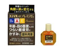 F/S Lion Smile 40 Premium Dry Eye Care Drops 15ml JAPAN