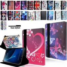 """Tablet De Cuero Soporte Folio Estuche Cubierta para 7"""" 8"""" 10"""" Samsung Galaxy Tab A A6"""