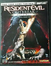 Resident Evil Outbreak File 2 BradyGames Official Strategy Guide PlayStation