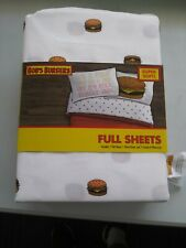 Jay Franco Bob's Burger Day 4 Piece Full Sheet Set