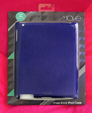 MOVE SNAP BACK iPAD CASE for iPAD 2/3/4 (PURPLE) SHIPS FROM SYDNEY **BRAND NEW**