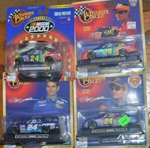 4X WINNERS CIRCLE Jeff Gordon 1:43 Scale NASCAR DuPont Pepsi Superman