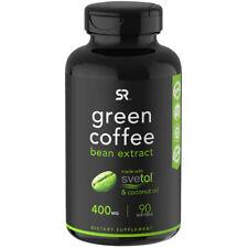 Investigación De Deportes Verde Extracto de Grano de Café Suplemento Dietético - 90 cápsulas blandas