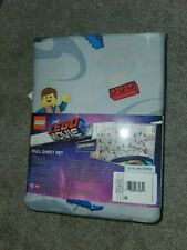 Warner Bros The Lego Movie 2 Gallactic Duo FULL Sheet Set Super Soft NEW