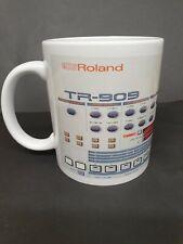 Tr909 11oz Mug, Roland, synth, drum machine, synthesizer