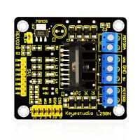 Keyes Dual Channel H-bridge L298N Stepper Motor Driver Board Module for Arduino