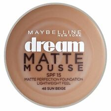 Maybelline Dream Matte Mousse SPF15-Sun Beige 048 18ml Foundation Women