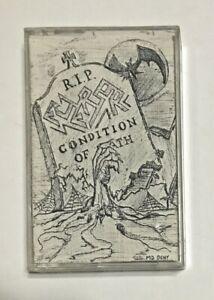 Eversor (Italy) Condition Of Death Demo Cassette 1988 Thrash Metal Death Metal