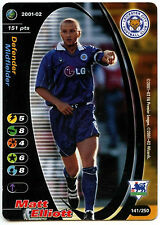 Matt Elliott Leicester #141 Football Champions TCG 2001-2 Trade Card (C245)