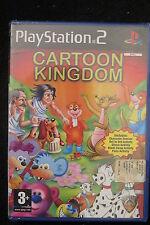 PS2 : CARTOON KINGDOM - Nuovo, risigillato!  Da Phoenix Games !