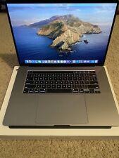 Apple MacBook Pro 16'' 2.6GHz Six Core i7 512GB 16GB MVVJ2LL/A  Slightly Used