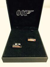 S.T. Dupont 007 James Bond Ingot Cufflinks - Brand New - NEW OLD STOCK!