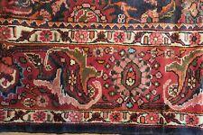 Authentic Wool Rnrn-204 7'4'' x 10'10'' Persian Hamedan Rug