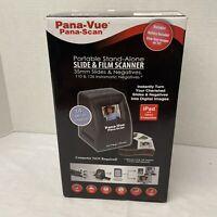 Pana-Vue Pana-Scan Portable Stand Alone Slide & Film Scanner APA125