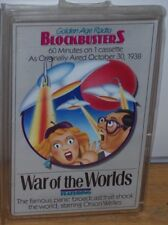 War Of The Worlds Audio Cassette Golden Age Orson Welles 1977 NEW Make Offer!