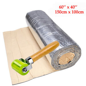 Car Insulation Sound Deadening Heat Shield Thermal Noise Proof Mat 60'' x 40''