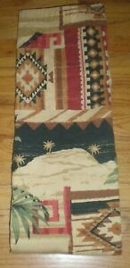 Vohann Marisol Cotton SHOWER CURTAIN Southwestern Desert Native Tribal NEW