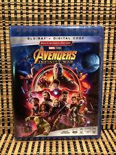 Avengers 3: Infinity War (Blu-ray, 2018)Marvel/Iron Man/Thor/Hulk/Thanos/GotG