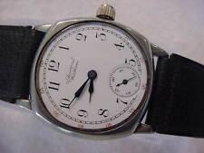 Vintage large antique 1800 Porcelain Dial WALTHAM TRANSITION mens watch . NR