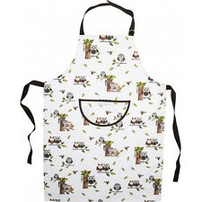 Roy Kirkham 100% Cotton Owl Lovers Charity RSPB Chefs Apron Funky Kitchen Gift