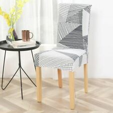 Stretch Elastic Chair Covers Spandex For Wedding Dining Room Office Banquet Gift