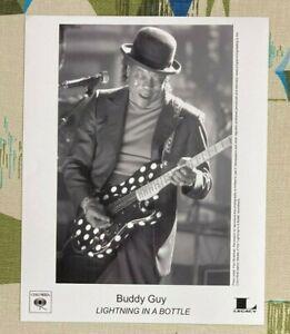 Buddy Guy Black & White 8x10 Promo Photograph 2004 Lightning in a Bottle
