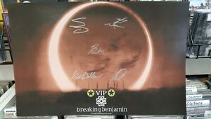 "BREAKING BENJAMIN - RARE: DARK BEFORE DAWN - ""AUTOGRAPHED"" 11X17 POSTER - NEW"