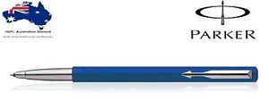 Parker Vector Standard CT Roller Ball pen ( Blue Body ) New with Gift Box