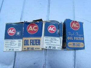 VINTAGE NOS  AC DELCO PF-141 5574540 OIL FILTER CORVETTE CHEV. GMC STUDEBAKER