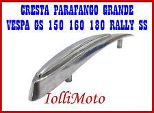 CRESTA PARAFANGO GRANDE IN ALLUMINIO VESPA GL 150 GS 160 180 SS RALLY SPRINT