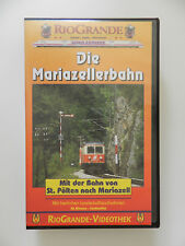 VHS Video Kassette Die Mariazellerbahn Rio Grande