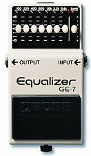 Pédale Boss GE7 -Graphic Equalizer