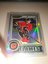2014-15 O-Pee-Chee Platinum Rainbow Johnny Gaudreau #194 Rookie