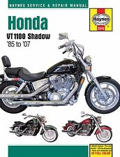 1985-2007 Honda Shadow VT 1100 Spirit Aero Sabre HAYNES REPAIR MANUAL