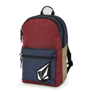 """Volcom """"Academy"""" Backpack (Cabernet) Back Pack School Book Bag"""