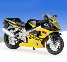 1:18 Maisto SUZUKI GSX R600 Motorcycle Bike Model Yellow Black New In Box