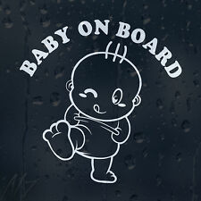 Baby On Board Car Window Windscreen Body Panel Bumper Decal Vinyl Sticker