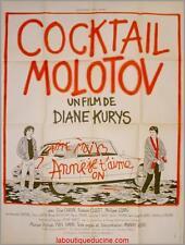 COCKTAIL MOLOTOV Affiche Cinéma Movie / Poster Diane Kurys CITROEN DS