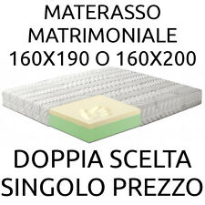 Materasso MATRIMONIALE MEMORY  160x190 o160 x200 h cm22