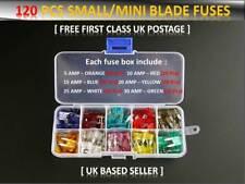 120pcs Coche Mitsubishi/Furgoneta Fusibles Mini Hoja Caja 5 10 15 20 25 30 Amp