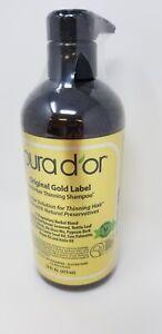 PURA D'OR Original Gold Label Anti-Thinning Shampoo w/Organic Argan Oil Biotin