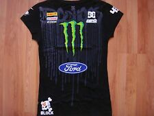 ***HOT ITEM** NWOT DC SHOES KEN BLOCK WOMEN MONSTER FORD T SHIRT  EXTRA LARGE XL