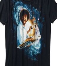 Bob Ross Men's KO Vintage TV Painter Black Universe T-Shirt Size XXXL