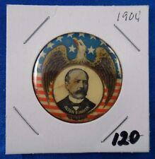 1904 Alton B. Parker Presidential Campaign Political Pin Pinback Button