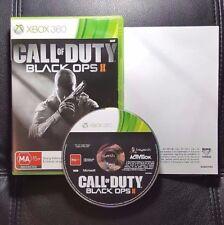 Call of Duty Black Ops II 2 (Microsoft Xbox 360, 2012) Xbox 360 Game - FREE POST