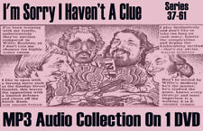 I'm Sorry I Haven't A Clue, Series 37 to 61 Classic Radio MP3 DVD
