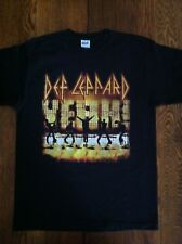 Def Leppard Yeah! 2006 Tour T Shirt Size L Anvil